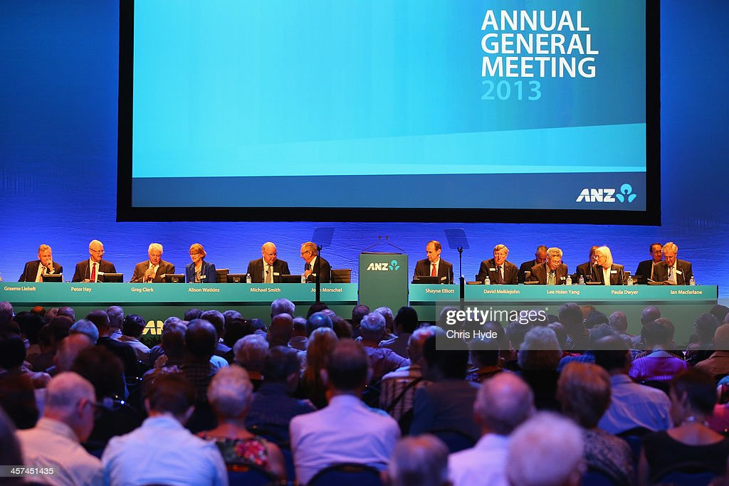 Annual General Meeting at the Brisbane Convention & Exhibition Centre on December 18, 2013 in Brisbane, Australia.