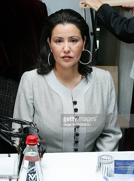 Annual Meeting Of Goodwill Ambassadors At The Unesco In Paris France On May 14 2009 Princess Lalla Meryem of Morocco