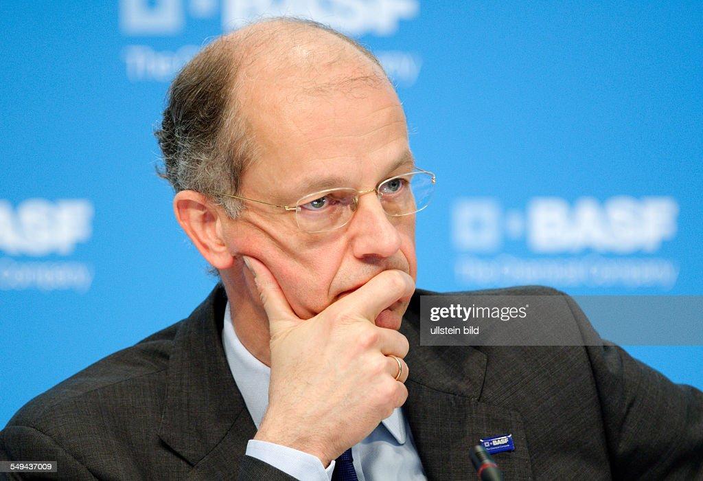 Annual press conference of BASF SE Kurt BOCK CEO