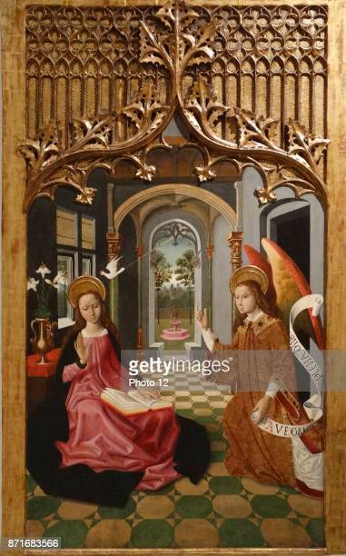 Annunciation by Master of La Seu d'Urgell Catalan painter during the 15th Century