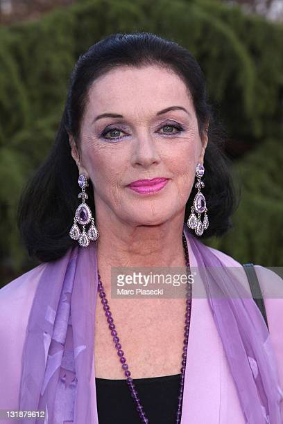 Anny Duperey attends the 25th Moliere Awards Ceremony on April 17 2011 in Creteil France