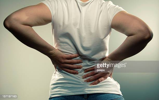 Anonymous Girl With Back Pain