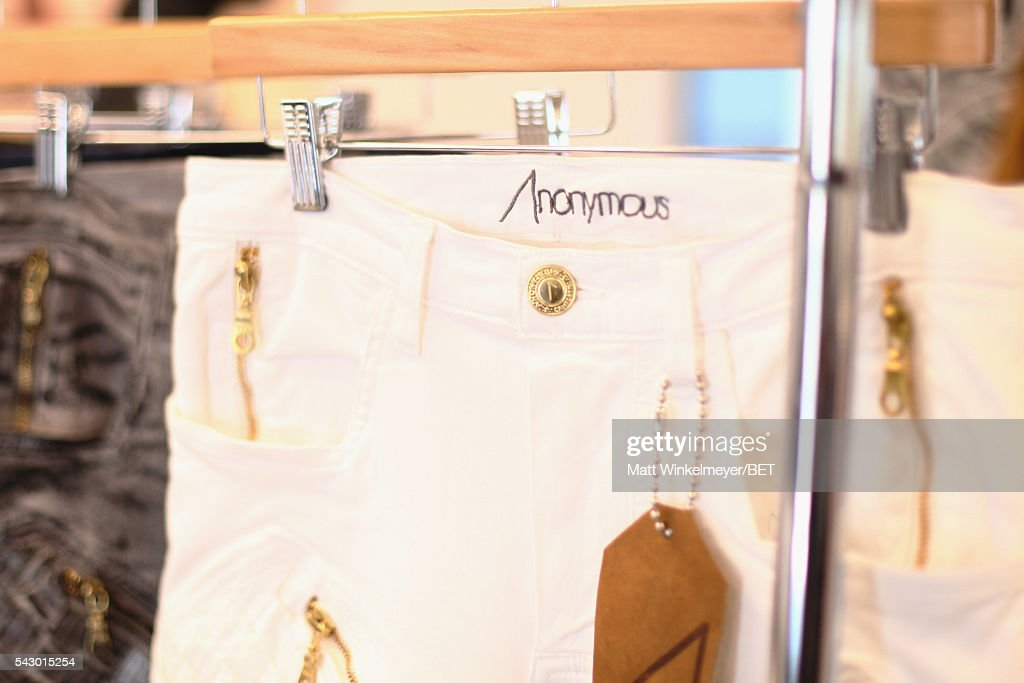 Anonymous products are displayed in the BETX gifting suite during the 2016 BET Experience on June 25, 2016 in Los Angeles, California.