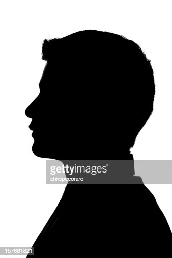 Anonymous Profile - Young Man Silhouette