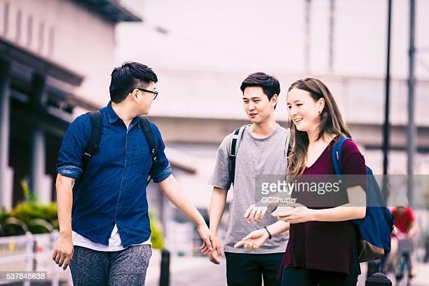 別の美しい日、日本ののグループインターナショナルステューデンツ