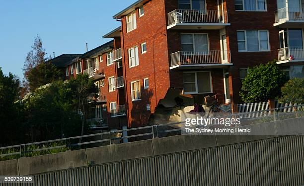 Another collapse at 630 pm of the 24 unit three story apartment complex Kerslake off the Pacific Highway Eastbound in Lane Cove which had initially...
