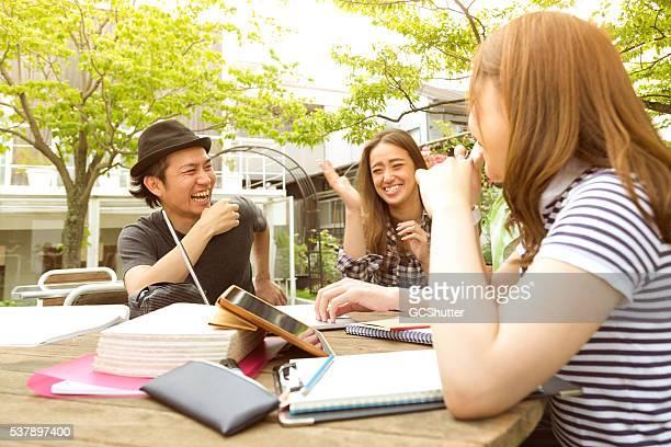 Une autre superbe journée avec collège amis