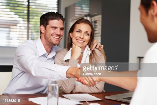 Another important step in their life together : Stock Photo