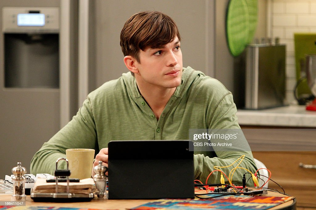 'Another Night With Neil Diamond' --Walden (Ashton Kutcher) is surprised to learn that Lyndsey has broken up with Alan, on TWO AND A HALF MEN, Thursday, April 25 (8:31 - 9:01 PM, ET/PT) on the CBS Television Network.Network.