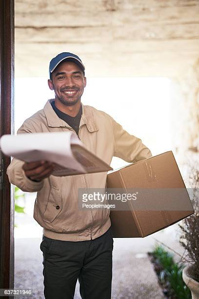 Another package successfully delivered