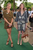 Anouck Lepere and guest as The McCartney Family Launches �Meat Free Monday' at Inn The Park on June 15 2009 in London England