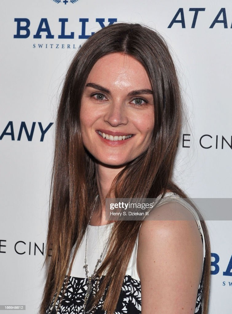 Anouck Lepere attends the Cinema Society & Bally screening of Sony Pictures Classics' 'At Any Price' at Landmark's Sunshine Cinema on April 18, 2013 in New York City.
