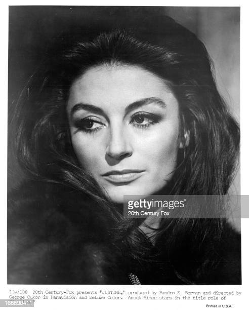Anouk Aimée in a scene from the film 'Justine' 1969