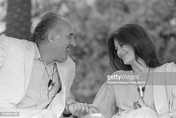 Anouk Aimee and Michel Piccoli won the best actor and actress awards at Cannes Film Festival for their performances in Marco Bellocchio's Salto Nel...