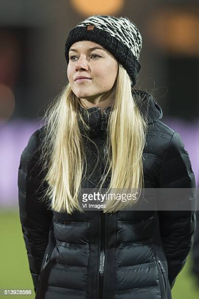Anouk Hoogendijk during the 2016 UEFA Women's Olympic Qualifying Tournament match between Norway and Netherlands on March 5 2016 at the Sparta...