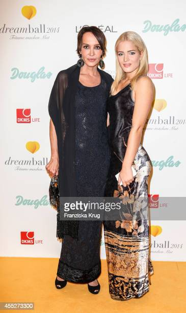 Anouschka Renzi and her daughter Chiara Renzi attend the Dreamball 2014 at the Ritz Carlton on September 11 2014 in Berlin Germany