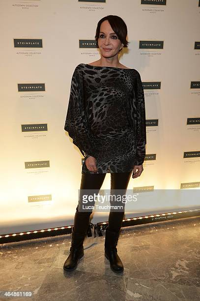 Anouschka Renzi attends Hotel Am Steinplatz Grand Opening on January 24 2014 in Berlin Germany