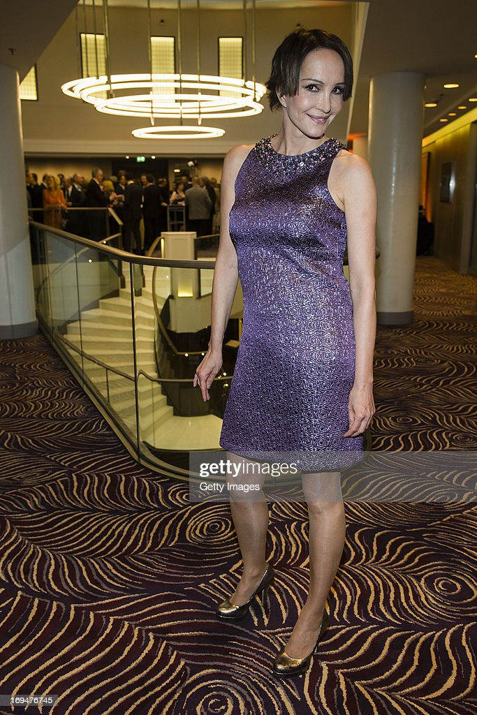 Anouschka Renzi attends the 1st Charity Dinner by Federal Trust Fund Magnus Hirschfeld at Waldorf Astoria on May 25, 2013 in Berlin, Germany.