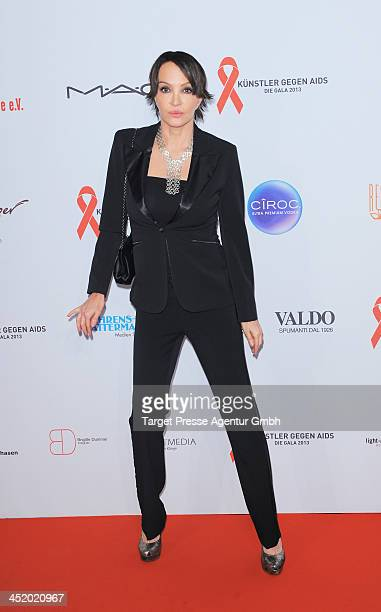 Anouschka Renzi attends the Artists Against Aids Gala 2013 at Stage Theater on November 25 2013 in Berlin Germany