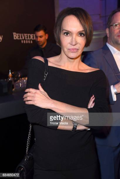 Anouschka Renzi attends the Blue Hour Reception hosted by ARD during the 67th Berlinale International Film Festival Berlin on February 10 2017 in...