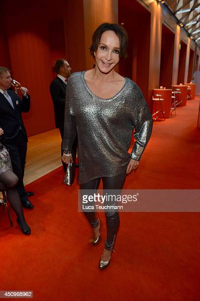 Anouschka Renzi attends the Christoph Metzelder Foundation Charity Golf Cup Gala at Axica on June 20 2014 in Berlin Germany