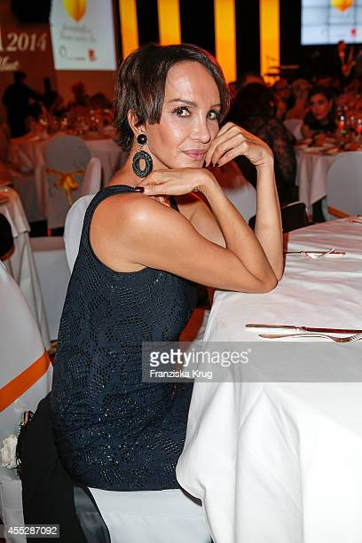 Anouschka Renzi attends the Dreamball 2014 at the Ritz Carlton on September 11 2014 in Berlin Germany