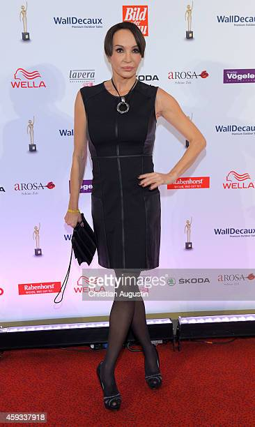 Anouschka Renzi attends the 'Goldene Bild Der Frau' Award 2014 at TUI Operettenhaus on November 20 2014 in Hamburg Germany