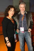 Anousheh Ansari of Ahoora Foundation and Frank Schaetzing attend the Digital Life Design conference at HVB Forum on January 25 2010 in Munich Germany...