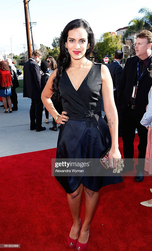 Anoushka Shankar at The 55th Annual GRAMMY Awards - Special Merit Awards Ceremony And Nominee Reception held on on February 9, 2013 in Los Angeles, California.