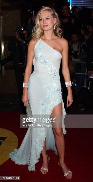 Anouska De Georgiou arrive for the world charity premiere of Alfie at the Empire Leicester Square in central London in aid of MakeAWish foundation