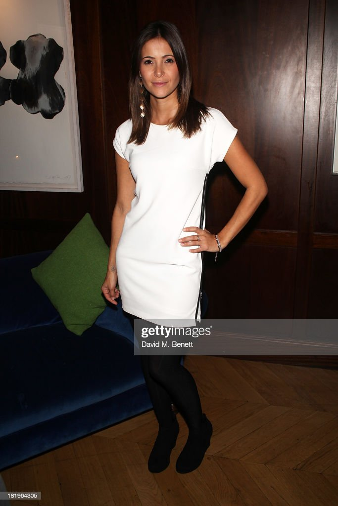 Anouska Mond attends a drinks reception celebrating the new co-production agreement between Anchor Bay Films and Richwater Films at The Groucho Club on September 26, 2013 in London, England.