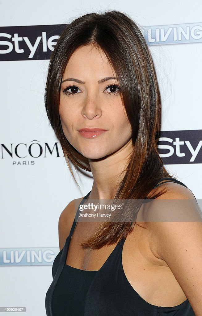 Anouska Mond attends InStyle magazine's The Best of British Talent pre-BAFTA party at Dartmouth House on February 4, 2014 in London, England.