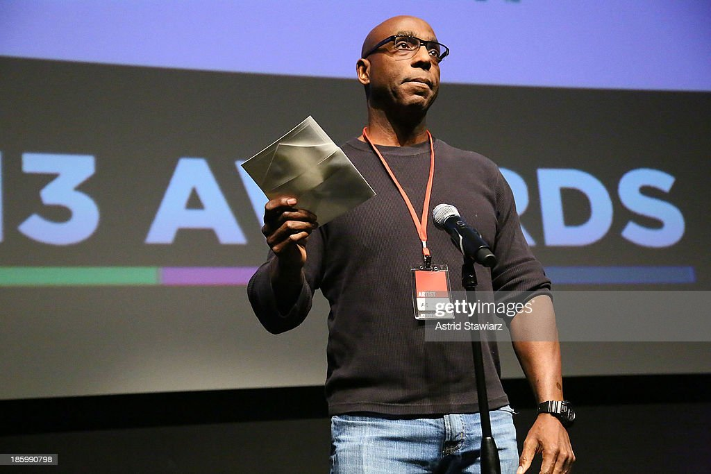 Anre Garrett attends the awards ceremony during the 9th Annual New York Television festival at SVA Theater on October 26, 2013 in New York City.