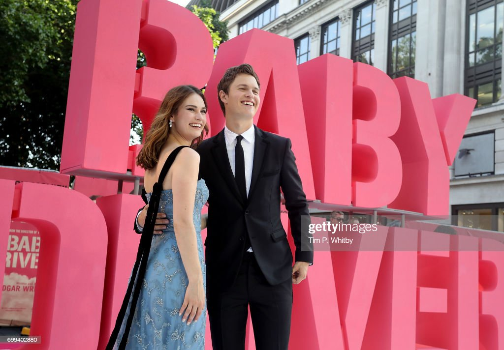 "Edgar Wright's ""Baby Driver"" Premieres in London"
