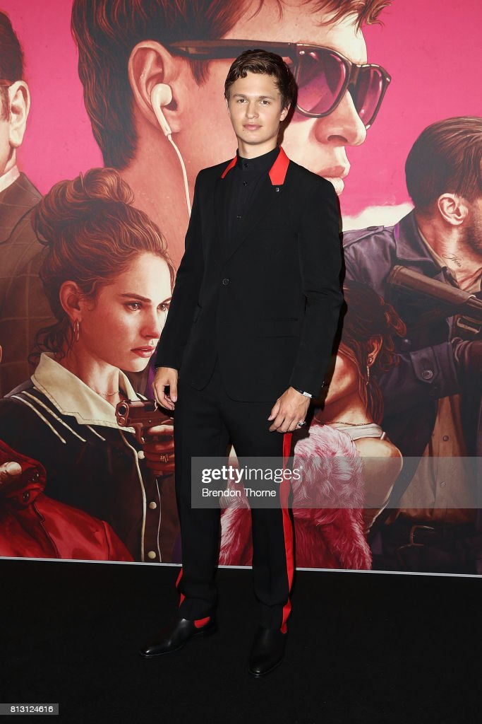 Ansel Elgort arrives ahead of the Baby Driver Australian Premiere at Event Cinemas George Street on July 12, 2017 in Sydney, Australia.