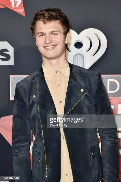 Ansel Elgort attends the 2017 iHeartRadio Music Awards Arrivals at The Forum on March 5 2017 in Inglewood California