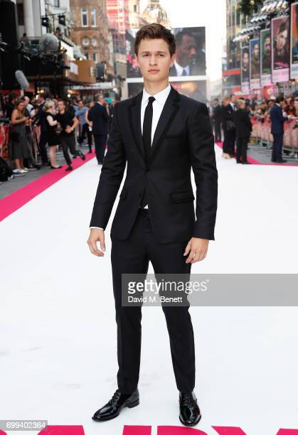 Ansel Elgort attends the European Premiere of 'Baby Driver' at Cineworld Leicester Square on June 21 2017 in London United Kingdom