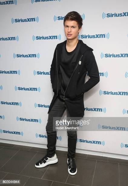 Ansel Elgort visits at SiriusXM Studios on June 27 2017 in New York City
