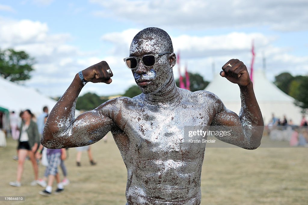 Anselme Dilenga on day 4 of Wilderness Festival on August 11, 2013 in Cornbury Park, Oxfordshire, England.