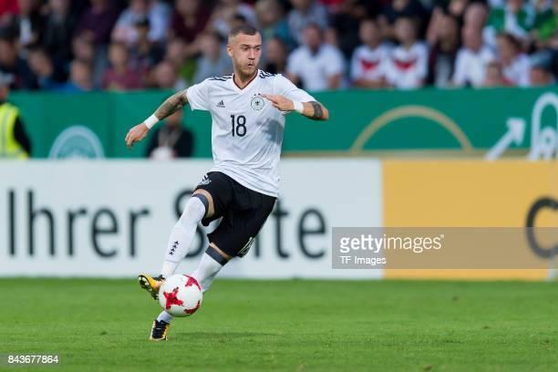 Ansgar Brinkmann Der weiße BrasilianerMarcel Hartel of Germany controls the ball during the U21 UEFA 2018 EM Qualifying match between Germany and...