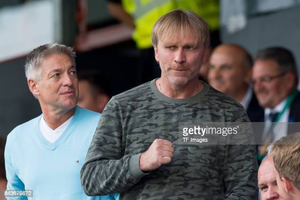 Ansgar Brinkmann looks on during the U21 UEFA 2018 EM Qualifying match between Germany and Kosovo at the Stadion Bremer Bruecken in Osnabrueck...