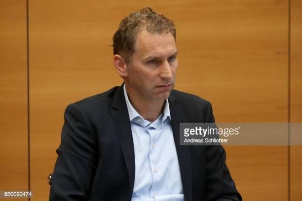 Ansgar Schwenken at DFB Headquarter on July 19 2017 in Frankfurt am Main Germany