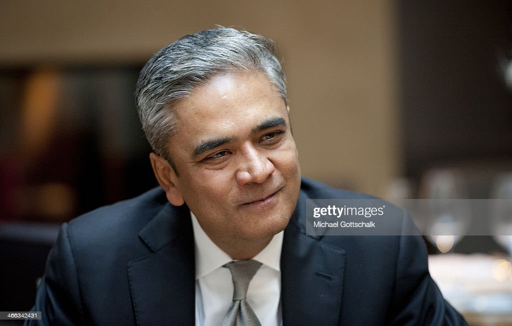<a gi-track='captionPersonalityLinkClicked' href=/galleries/search?phrase=Anshu+Jain&family=editorial&specificpeople=4132683 ng-click='$event.stopPropagation()'>Anshu Jain</a>, CEO of Deutsche Bank, attends the 50th Munich Security Conference on February 01, 2014 in Munich, Germany. The annual event brings together leading representatives from nations across the globe and among this year's main topics of discussion are the war in Syria, security vs. freedom in cyberspace and the future of European defense.
