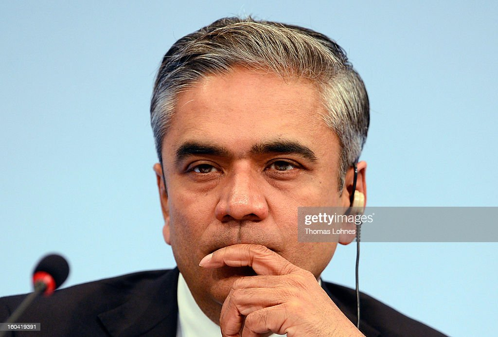Anshu Jain, Co-CEOs of Deutsche Bank, attends the company's annual press conference to announce its financial results for 2012 on January 31, 2013 in Frankfurt, Germany. Deutsche Bank announced a fourth quarter, pre-tax loss of EUR 2.6 billion, largely due to restructuring and litigation costs.