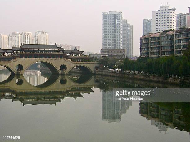 Anshun Bridge over  at Jin River