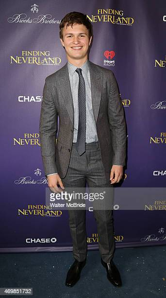 Anson Elgortattends the Broadway Opening Night Performance of 'Finding Neverland' at The LuntFontanne Theatre on April 15 2015 in New York City