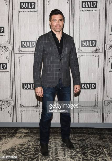 Anson Mount attends the Build Series to discuss the new show 'Inhumans' at Build Studio on August 31 2017 in New York City