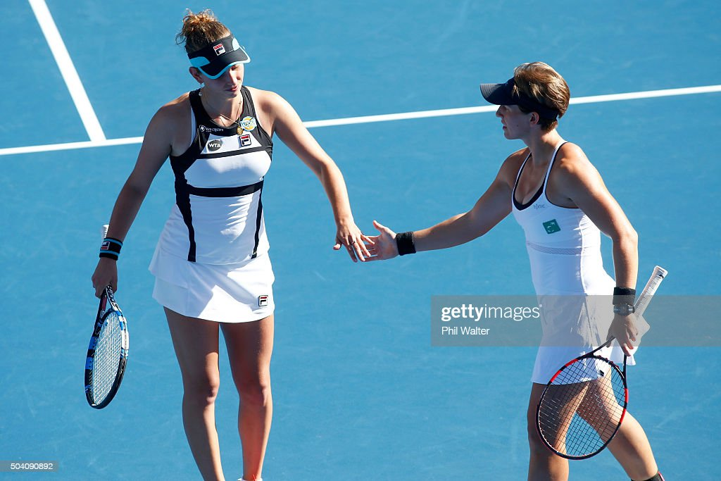 An-Sophie Mestach Ansophie-mestach-and-elise-mertens-of-belguim-celebrate-celebrate-a-picture-id504090892