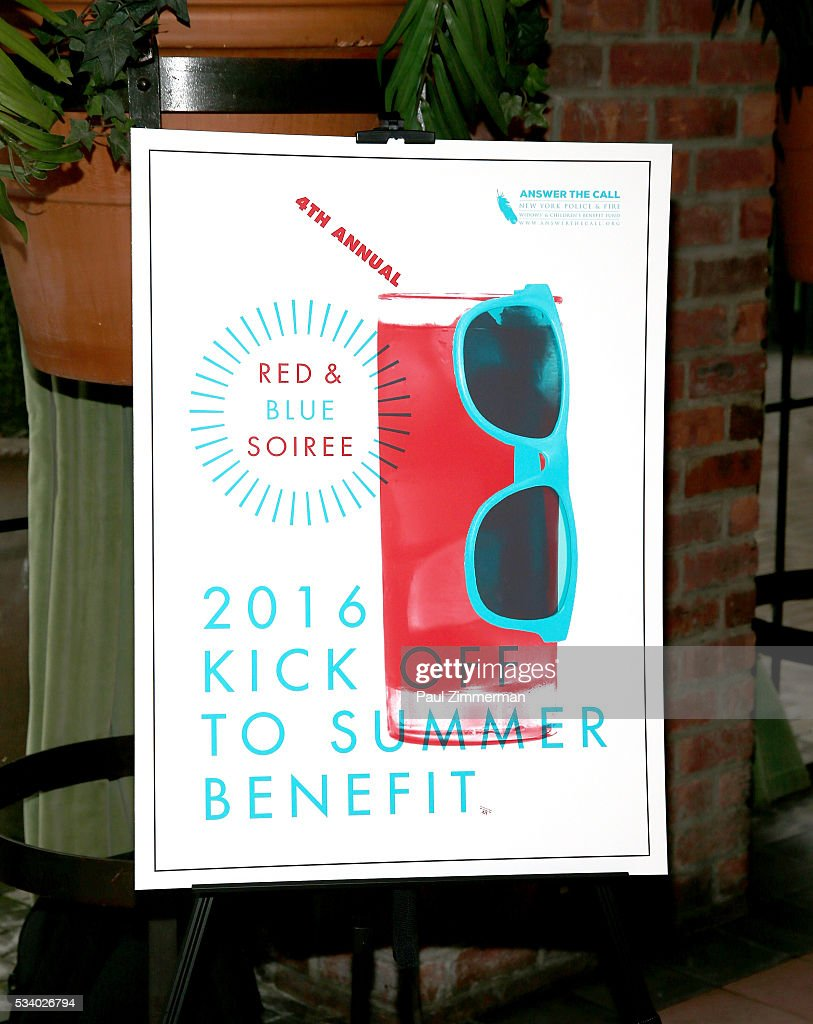 General atmosphere at the 4th Annual Kick Off To Summer Benefit 'The Red & Blue Soiree' at The Bowery Hotel on May 24, 2016 in New York City.