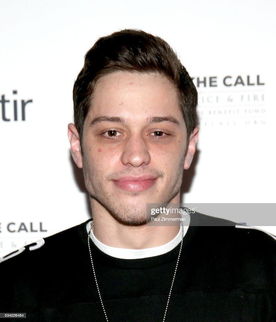 Honorary Chair/comedian <a gi-track='captionPersonalityLinkClicked' href=/galleries/search?phrase=Pete+Davidson&family=editorial&specificpeople=8019074 ng-click='$event.stopPropagation()'>Pete Davidson</a> poses at the 4th Annual Kick Off To Summer Benefit 'The Red & Blue Soiree' at The Bowery Hotel on May 24, 2016 in New York City.